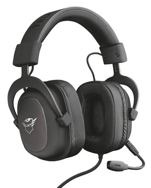 Trust Headset  Trust GXT 414 Zamak Premium Multiplatform Gaming čierny