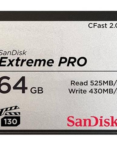 Pamäťová karta Sandisk Extreme Pro CFast 2.0 64 GB