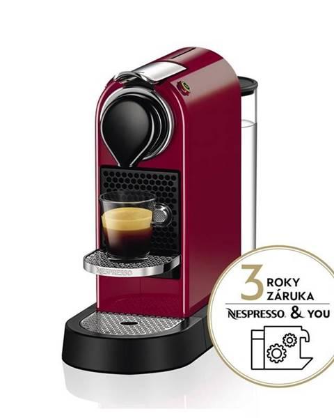 Krups Espresso Krups Nespresso Citiz XN741510 červen