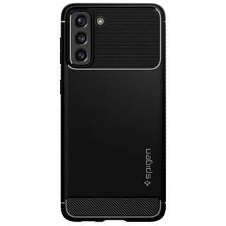 Kryt na mobil Spigen Rugged Armor na Samsung Galaxy S21+ 5G čierny