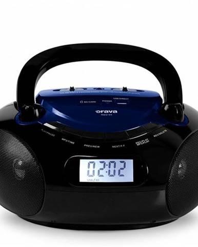 Rádioprijímač Orava RSU-04 čierny/modr
