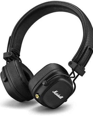 Slúchadlá Marshall Major IV Bluetooth čierna