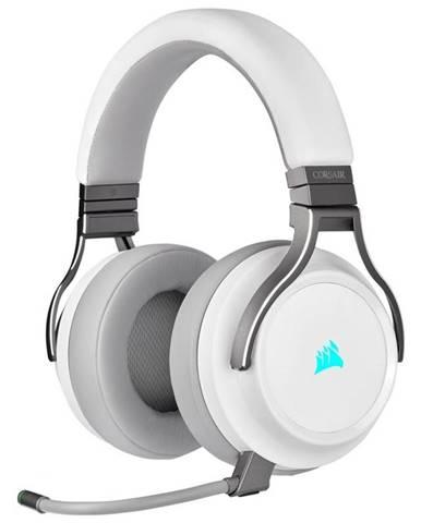 Headset  Corsair Virtuoso RGB Wireless High-Fidelity biely