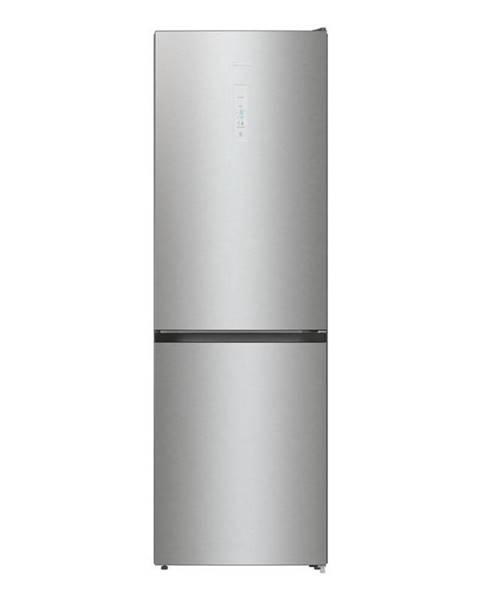 Hisense Kombinácia chladničky s mrazničkou Hisense Rb390n4bc2 nerez