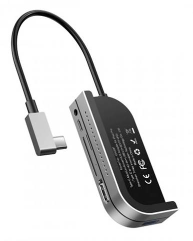Hub Baseus CAHUB-WJ0G pre iPad Pro USB-C, sivý