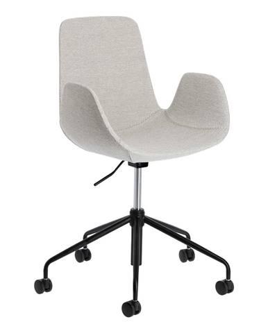 Svetlosivá kancelárska stolička La Forma Yasmin