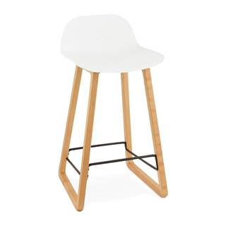 Biela barová stolička Kokoon Astoria