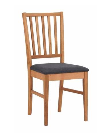 Hnedá dubová stolička Rowico Fillipa