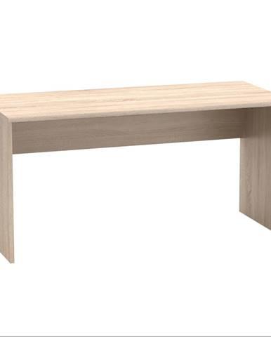 Písací stôl dub sonoma JOHAN 2 NEW 01