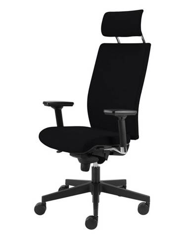 Kancelárska stolička CONNOR čierna