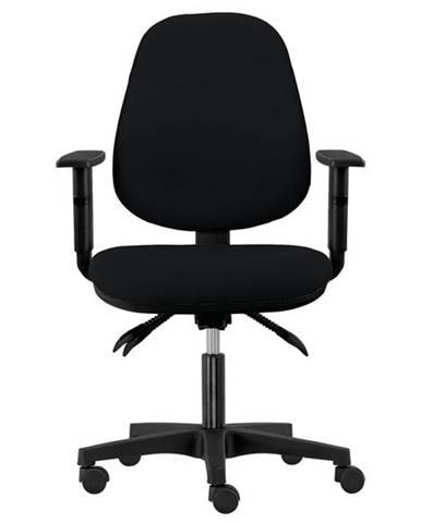 Kancelárska stolička DELILAH čierna