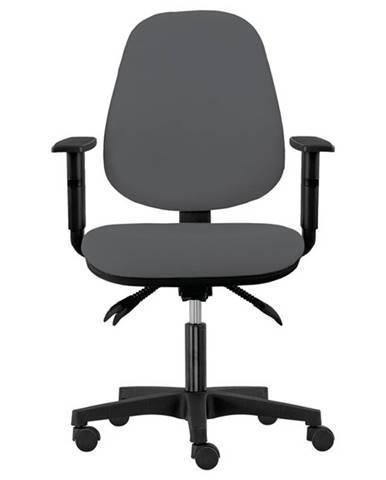 Kancelárska stolička DELILAH sivá