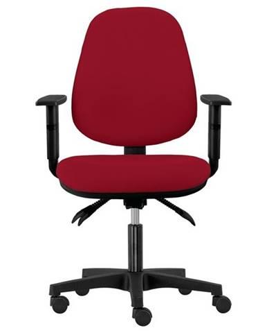 Kancelárska stolička DELILAH vínová