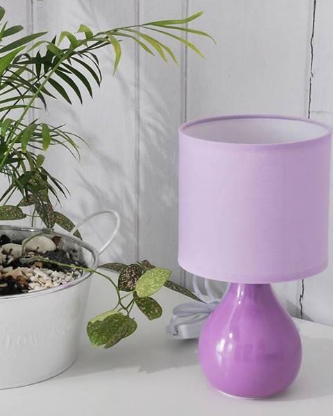MERKURY MARKET Stolová lampa JT899-5 fialová LB1