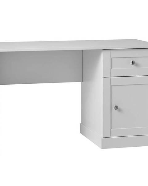 MERKURY MARKET Písací stôl Marie 1S1D  Biały