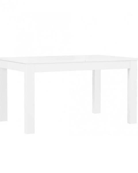 MERKURY MARKET Jedálenský stôl Tuluza PRTT402 biela lesklá/biela