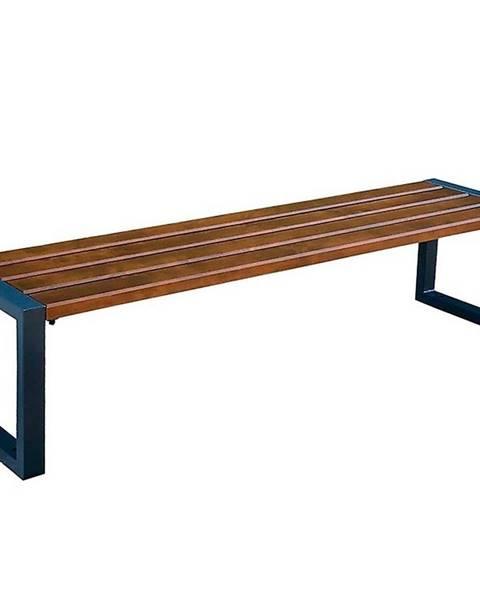 MERKURY MARKET Moderná lavica bez operadla orech