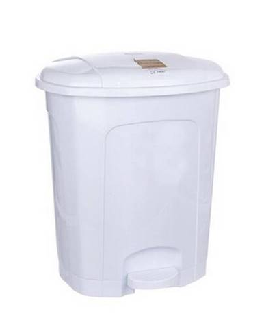 Orion Pedálový odpadkový kôš 11,5 l, biela