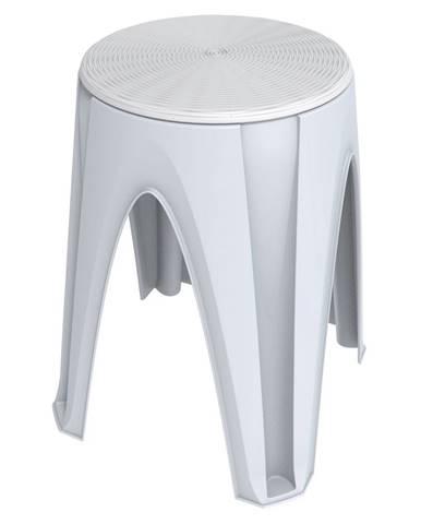 Otočná stolička Girotondo biela, 35 x 35 x 45,5 cm