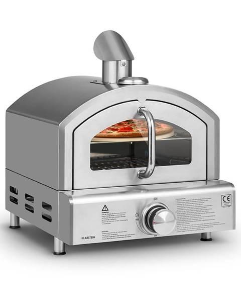 Klarstein Klarstein Pizzaiolo Neo, plynová pec na pizzu, vrátane kameňa na pizzu, termometer, nerezová oceľ