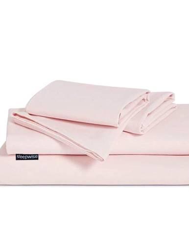 Sleepwise Traumwolle Biber, posteľná bielizeň, ružová, 135 x 220 cm, 80 x 80 cm