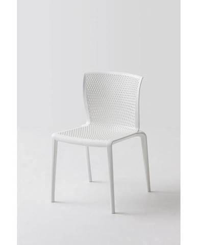 Plastová Stolička Spiker Biela 4ks