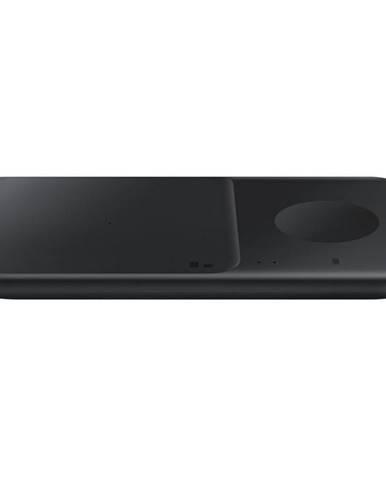 Bezdrôtová nabíjačka Samsung Duo Pad, 9W, bez kabelu čierna