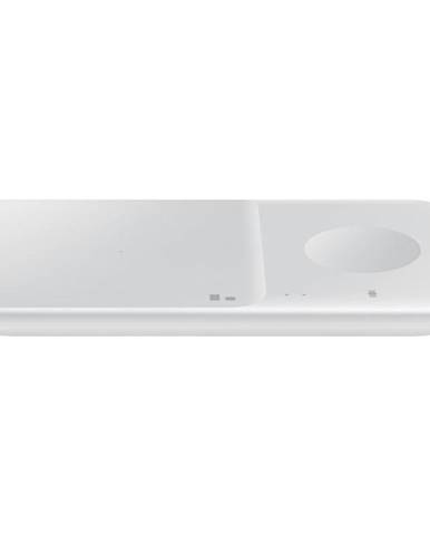 Bezdrôtová nabíjačka Samsung Duo Pad, 9W biela