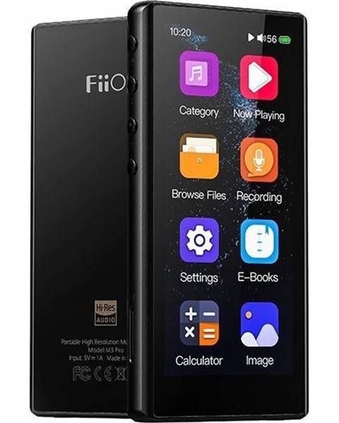 FiiO HiFi prenosný digitálný prehrávač FiiO M3 PRO čierny