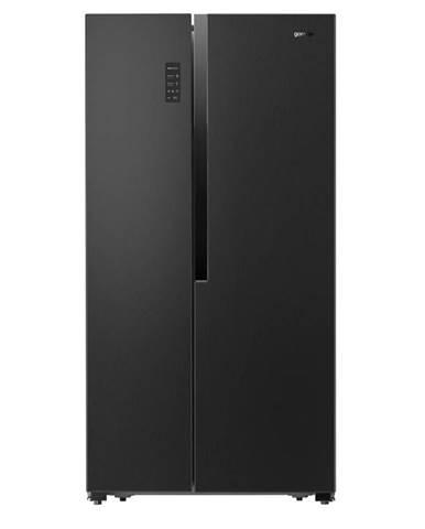 Americká chladnička Gorenje Nrs9183mb čierna