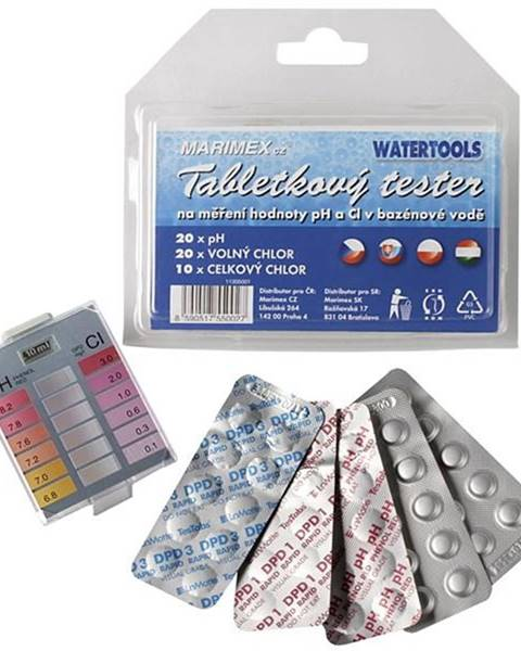 Marimex Tester  Marimex  pH a Cl tabletov