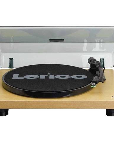 Gramofón Lenco L-30 drevený