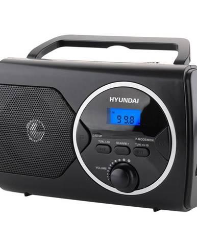 Rádioprijímač Hyundai PR 570Pllub čierny
