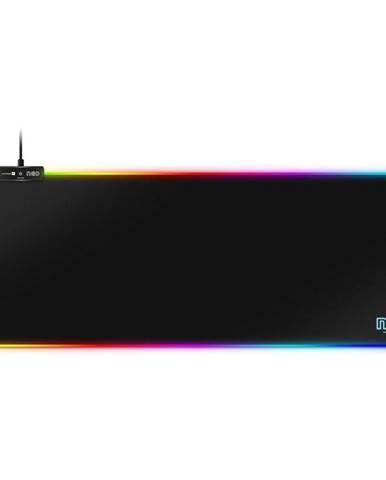 Podložka pod myš  Connect IT NEO RGB, vel. L 80 x 30 cm čierna