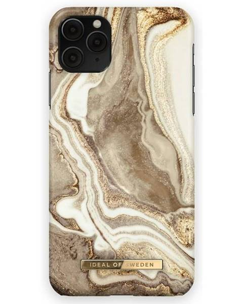 iDeal Kryt na mobil iDeal na Apple iPhone 12/12 Pro - Golden Sand Marble