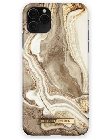 Kryt na mobil iDeal na Apple iPhone 12/12 Pro - Golden Sand Marble