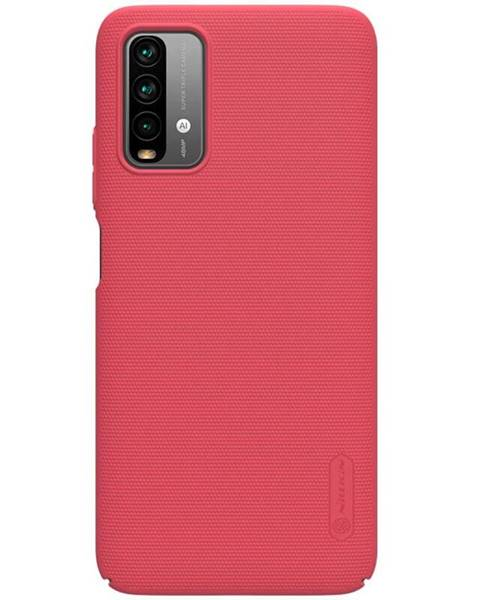 Nillkin Kryt na mobil Nillkin Super Frosted na Xiaomi Redmi 9T červen