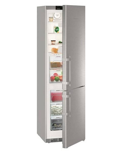 Liebherr Kombinácia chladničky s mrazničkou Liebherr Kgbnf 2060-3 nerez