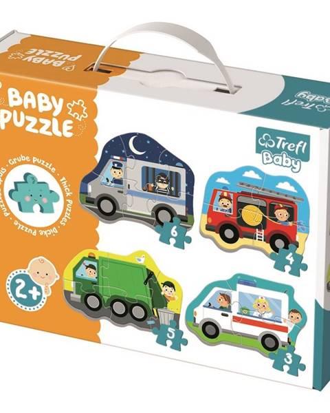 Trefl Trefl Baby Dopravné prostriedky 4v1