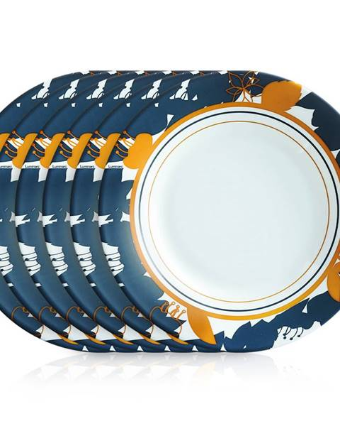 LUMINARC Luminarc Sada dezertných tanierov ORME 22 cm, 6 ks