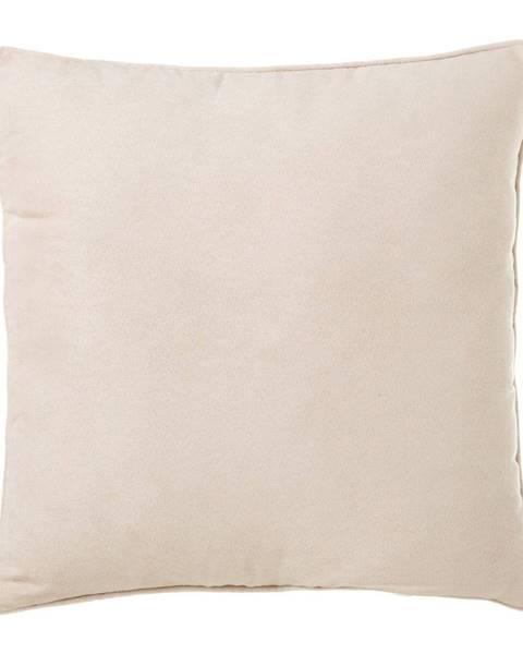 Unimasa Béžový vankúš Unimasa Loving, 45 x 45 cm