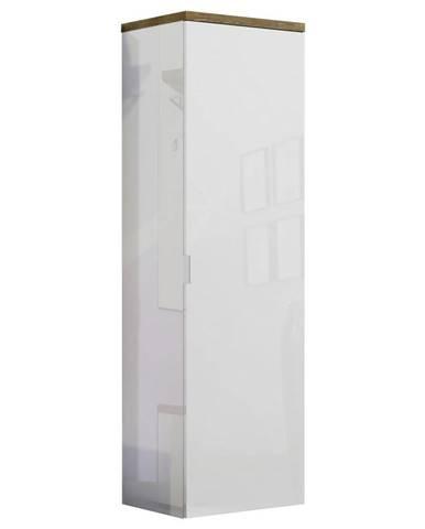 Xora PREDSIEŇOVÁ SKRIŇA, biela, farby dubu, 60/190/40 cm - biela, farby dubu