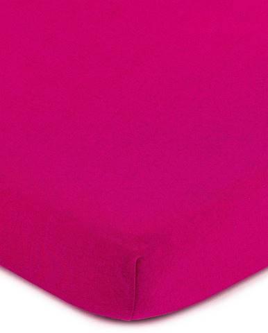 4Home jersey prestieradlo ružová, 160 x 200 cm