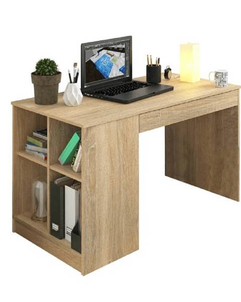 Kondela PC stôl dub sonoma VENDI