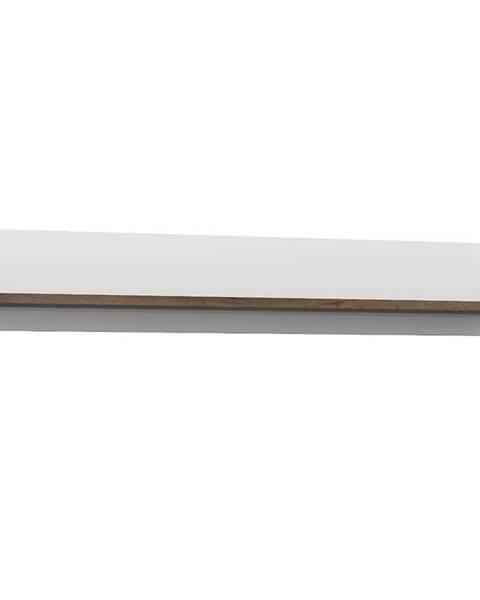 MERKURY MARKET Závesná polica White Sea dub šľachtený/biely lesk