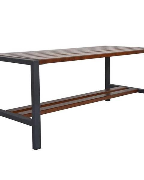 MERKURY MARKET Moderný stôl orech