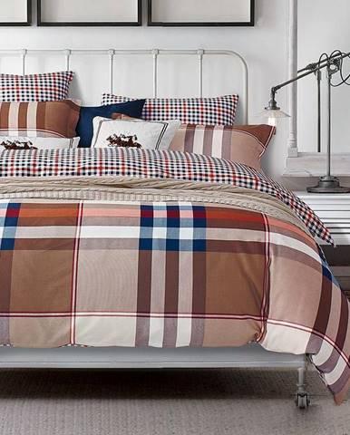 Bavlnená saténová posteľná bielizeň ALBS-0288B 160X200