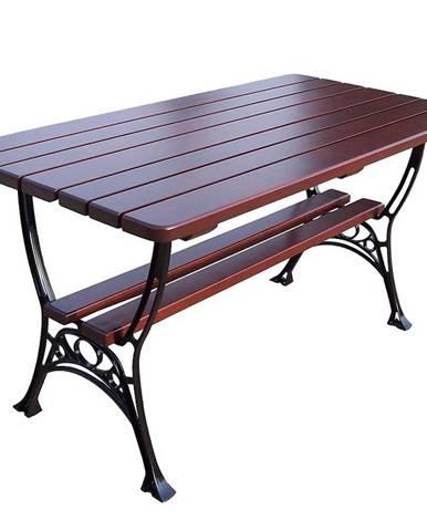 Stôl kráľovský farba višňa