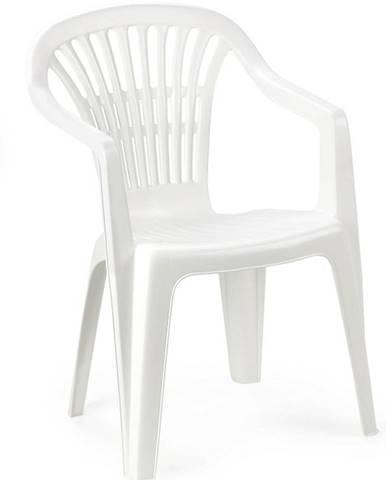 Záhradná stolička Scilla biela