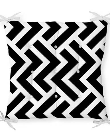 Sedák s prímesou bavlny Minimalist Cushion Covers Scribble, 40 x 40 cm